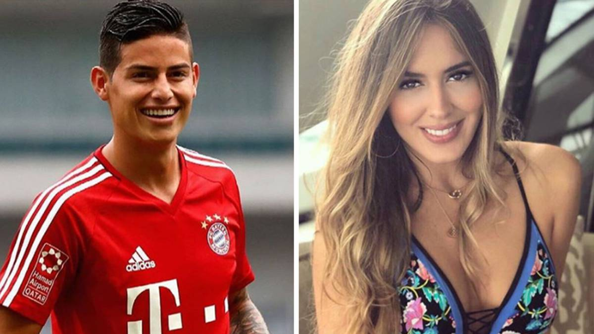 Image result for shannon de lima y james rodriguez