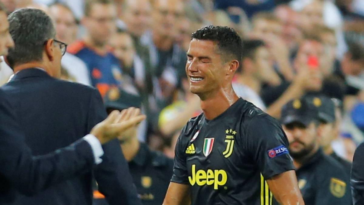¿Y con esta toma pensarías diferente de la expulsión de Cristiano Ronaldo?