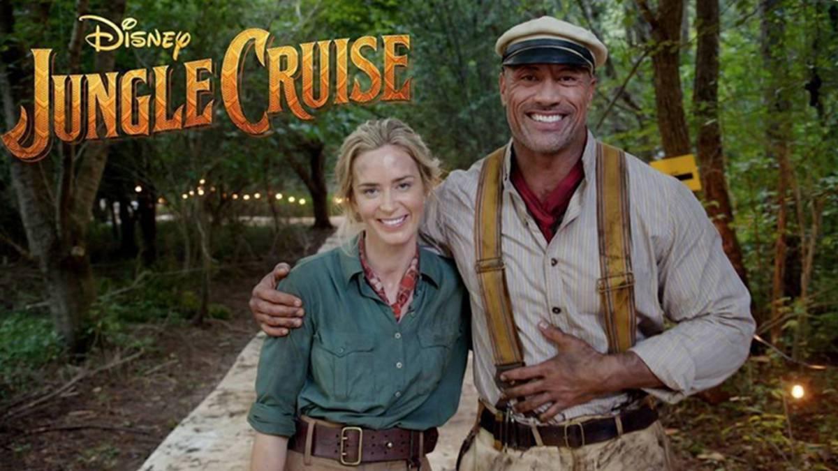Dwayne Johnson cobrará 13 mdd más que Emily Blunt en Jungle Cruise