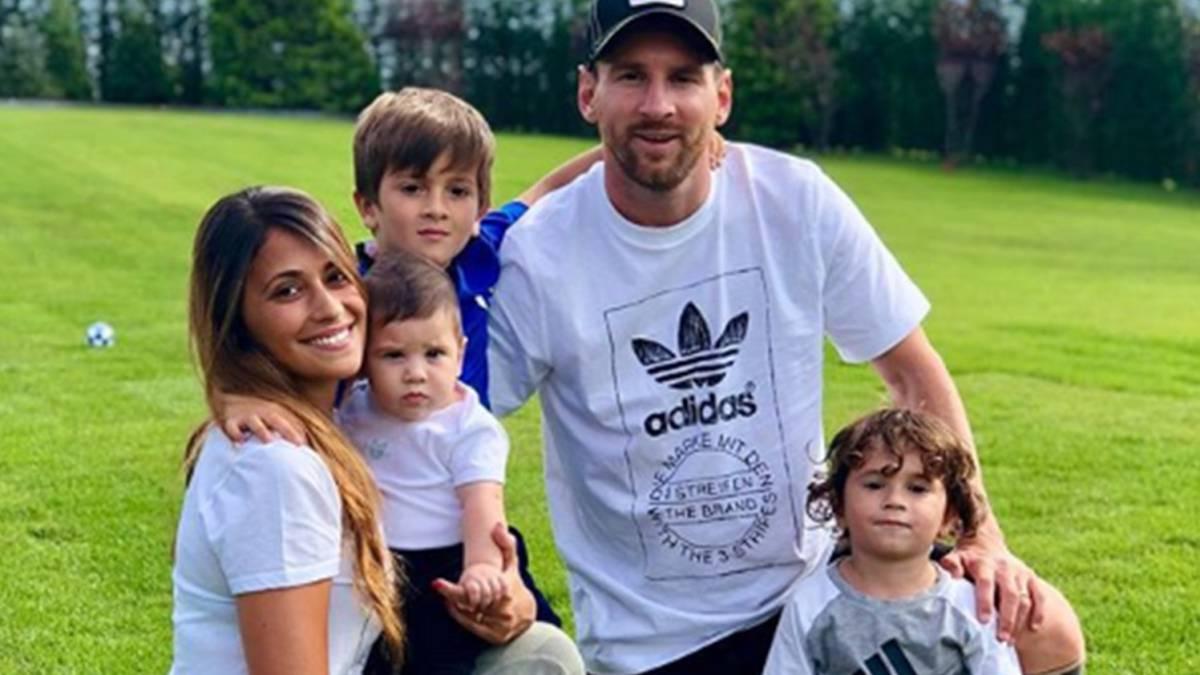 Fin de año romántico y familiar para Leo Messi en Rosario