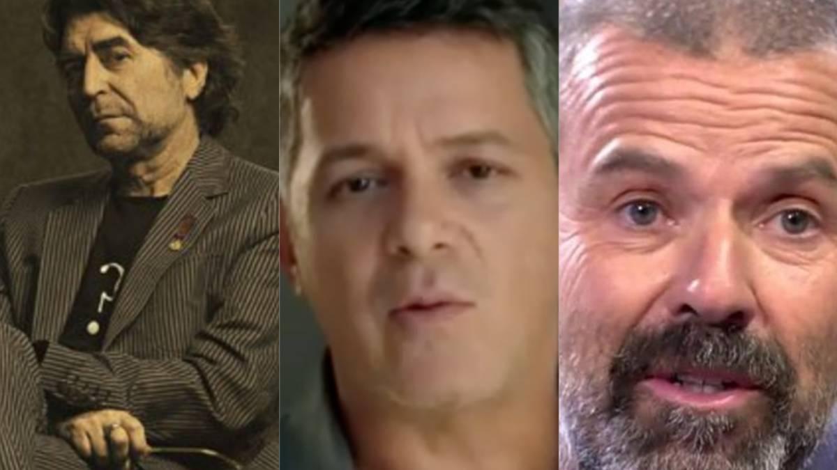 Joaquín Sabina y Alejandro Sanz, acusados por millonaria evasión fiscal