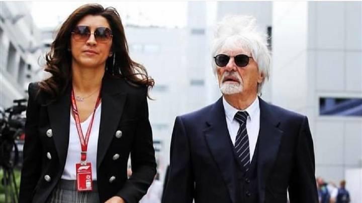 Bernie Ecclestone se convertirá en papá a sus 89 años de edad