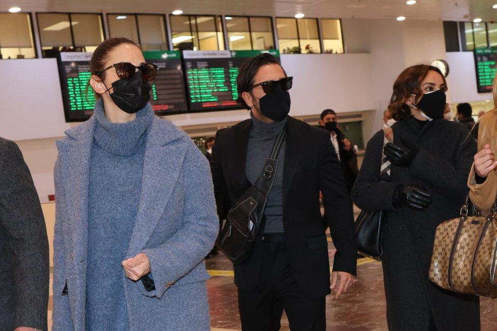 David Bustamante, Natalia, Chenoa, Manu Tenorio y Nuria Fergó llegan a Barcelona para dar el último adiós a Álex Casademunt