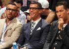 Cristiano y su séquito marroquí disfrutó con los Heat en Miami