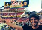 Kaká fue al Levi's Stadium para ver la Super Bowl