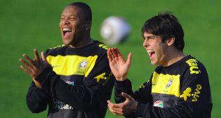 Kaká lo confirma: Julio Baptista jugará con él en el Orlando