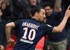 Ibrahimovic marca dos golazos en el 4-1 del PSG al Niza
