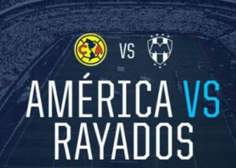 Liga MX: Club América vs Monterrey Live and online