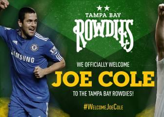 Oficial: Joe Cole se va a la NASL, ficha por los Rowdies