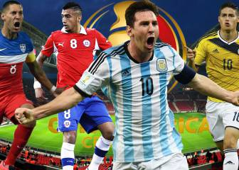 Las estrellas a seguir en la Copa América Centenario
