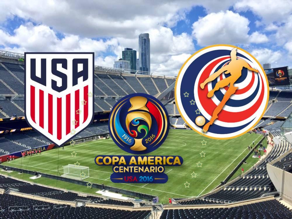 Usa Vs Costa Rica En Vivo Online 2º Partido Del Grupo A De La Copa