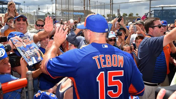 La 'Tebowmania' entra con fuerza en las Grandes Ligas
