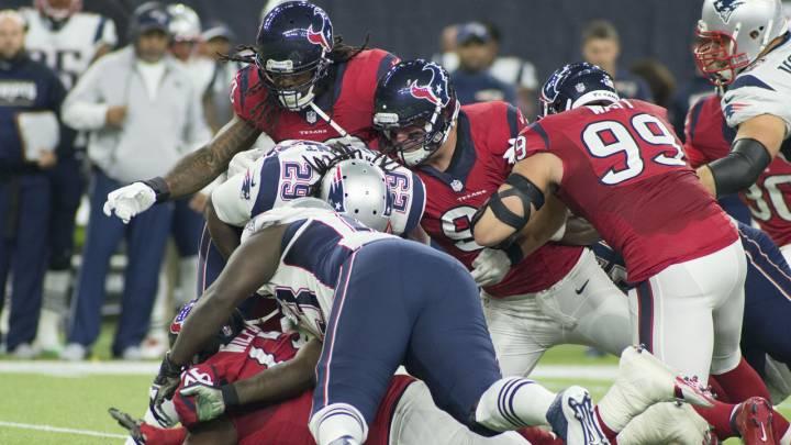 Cómo y dónde ver el Patriots - Texans de la NFL: horarios y TV online