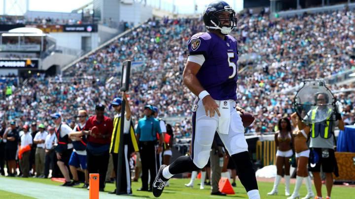 Los Ravens se llevan la victoria frente a Jacksonville Jaguars