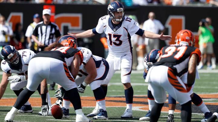 Trevor Siemian y los Broncos se coronan ante los Bengals