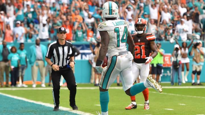 Los Miami Dolphins ganan a los Cleveland Browns en la prórroga