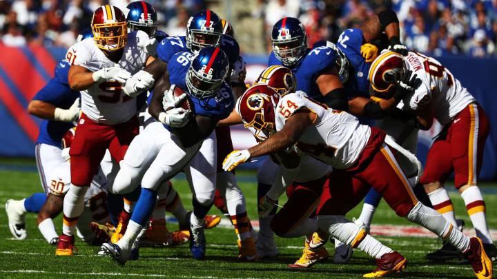 Los Giants se autodestruyen con un football barriobajero