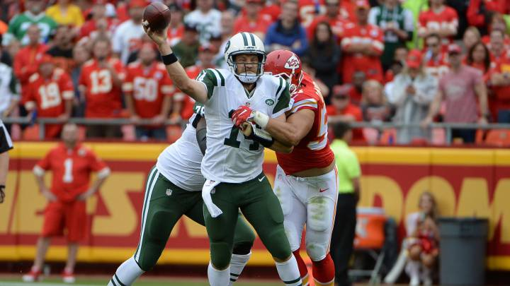 Fitzpatrick hace del Chiefs-Jets una orgía de intercepciones