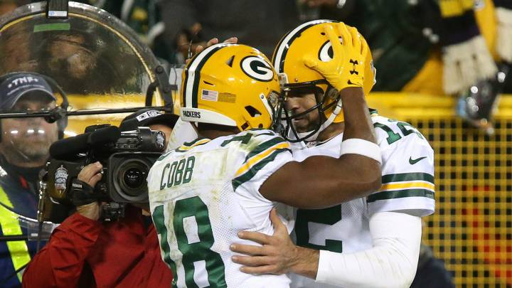 Aaron Rodgers retoma su nivel en triunfo de los Packers