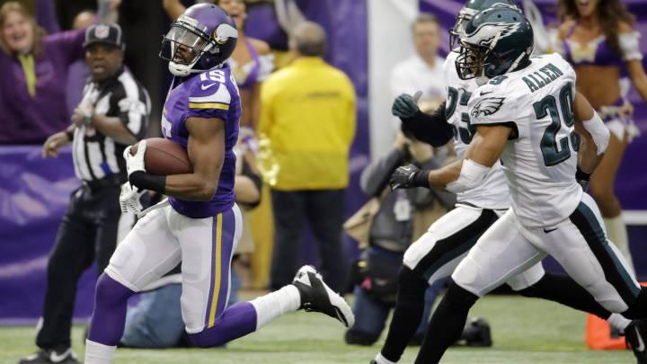 Horario del partido entre Philadelphia Eagles y Minnesota Vikings de la séptima semana de temporada regular de la NFL, este domingo 23 de octubre de 2016.