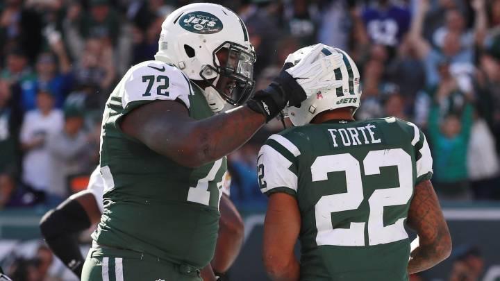 Matt Forte, runing back de los New York Jets, se encargó de liquidar a los Baltimore Ravens