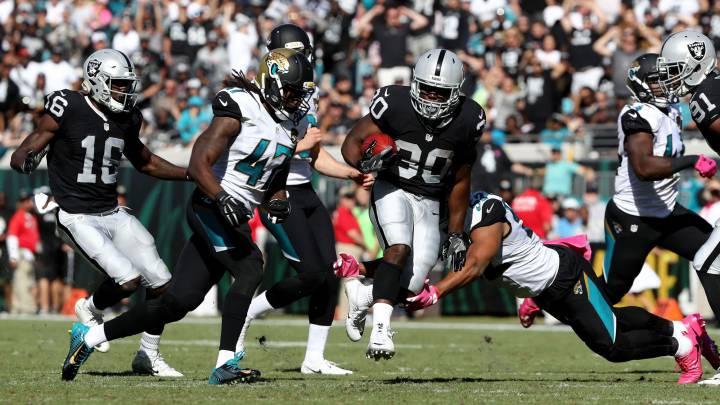 Los Raiders se pasean ante unos Jaguars que no juegan a nada