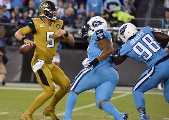 Blake Bortles, el quarterback de los minutos de la basura