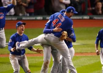 Los Chicago Cubs vencen a los Cleveland Indians y ganan la Serie Mundial 108 años después