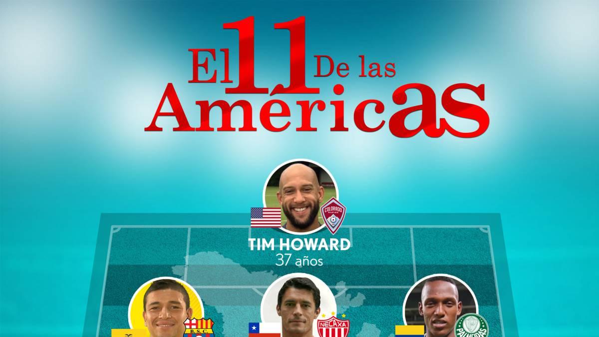 Dos chilenos destacan en el 11 ideal de las ligas americanas - AS Chile 60fb0ce241c85