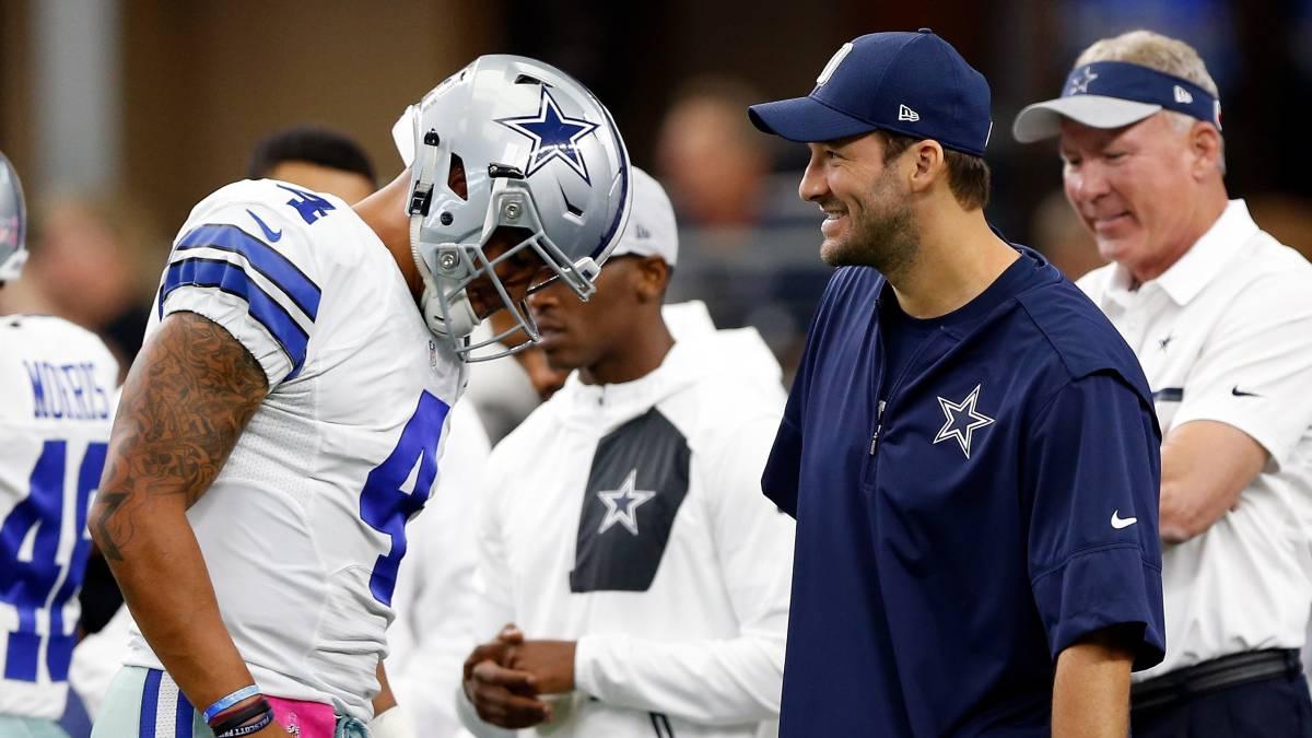Jerry Jones habla sobre la buena relación entre Prescott y Romo