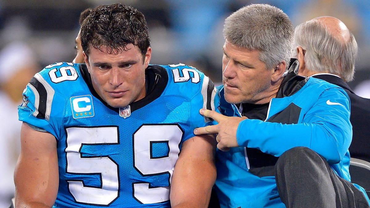 Las lágrimas de Kuechly son las lágrimas de los Panthers