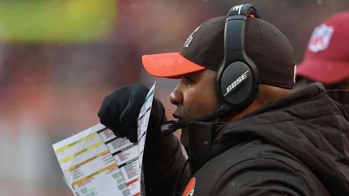 Los Browns confirman a Hue Jackson en su puesto... ¡Peligro!