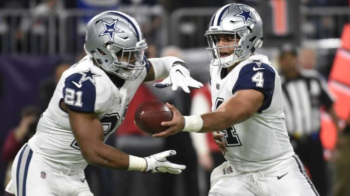 Dak Prescott y Zeke Elliott lideran los votos de la Pro Bowl