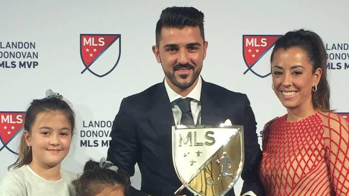 David Villa es nombrado MVP de la Major League Soccer 2016