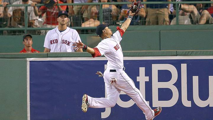 Mookie Betts fue todo un hallazgo por los Red Sox en la quinta ronda del draft.