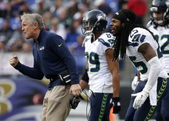 Pete Carroll ha hecho las paces con Richard Sherman