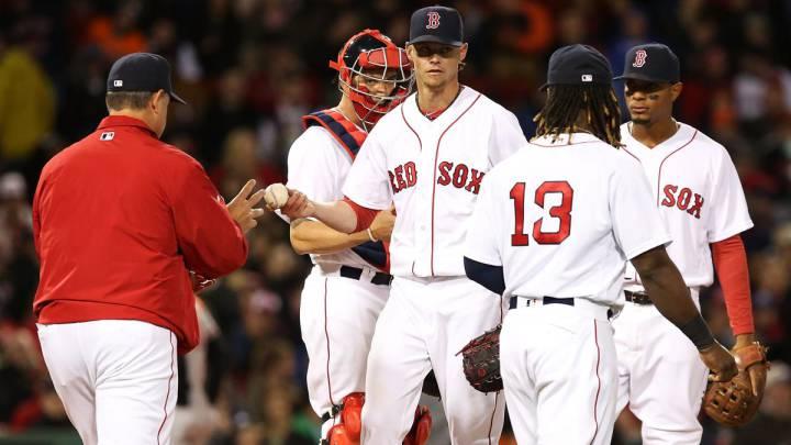 Clay Buchholz se ha caracterizado por una inmensa irregularidad durante su etapa en los Boston Red Sox.