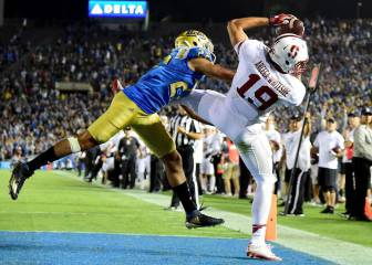 JJ Arcega destaca en la Sun Bowl entre Stanford y North Carolina