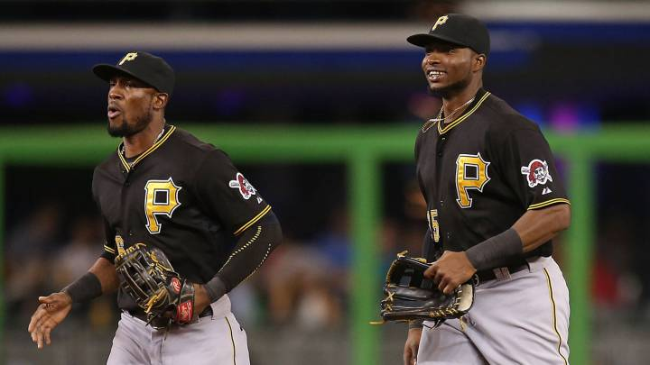 El futuro de los Pittsburgh Pirates está garantizado con los talentos de Starling Marté (izquierda) y Gregory Polanco.