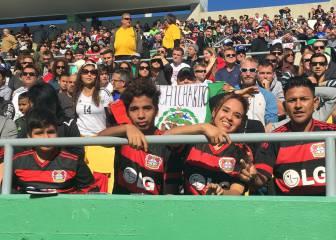 La casa de los Rowdies se encendió con la visita de Chicharito