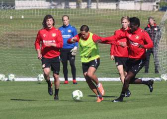 Así entrena el Bayer Leverkusen de \'Chicharito\' en Orlando