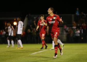 Chicharito se reencontró con el gol 102 días después