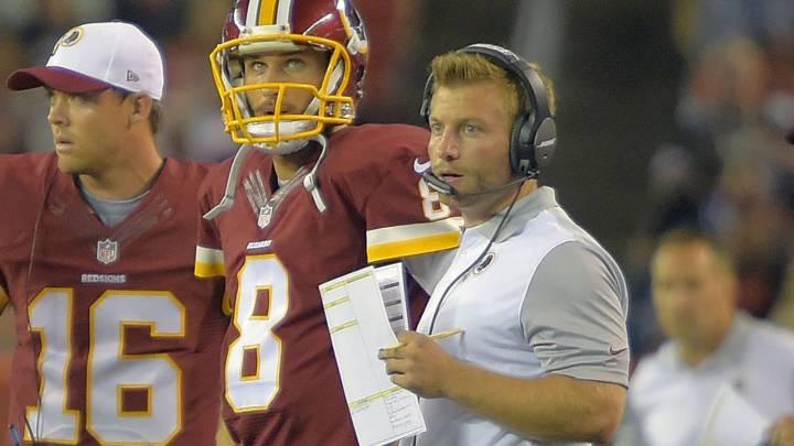 El yogurín Sean McVay, nuevo entrenador principal de los Rams