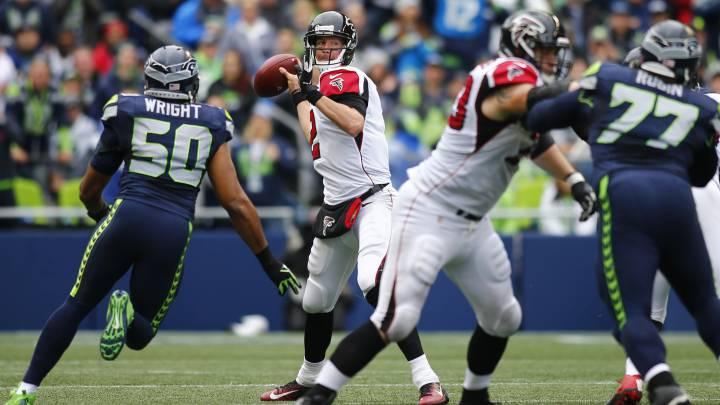 Así será el Falcons-Seahawks según las estadísticas