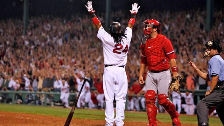 Manny Ramírez dejó momentos inolvidables durante su etapa con los Boston Red Sox.