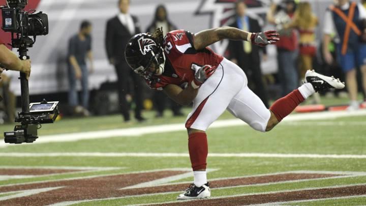 Las mejores fotografías del Falcons-Seahawks divisional