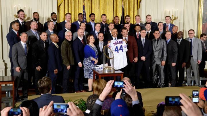 Obama recibió a los Cubs y reiteró importancia del deporte