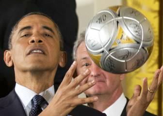 Adiós Barack Obama, el Presidente ¡más futbolero!