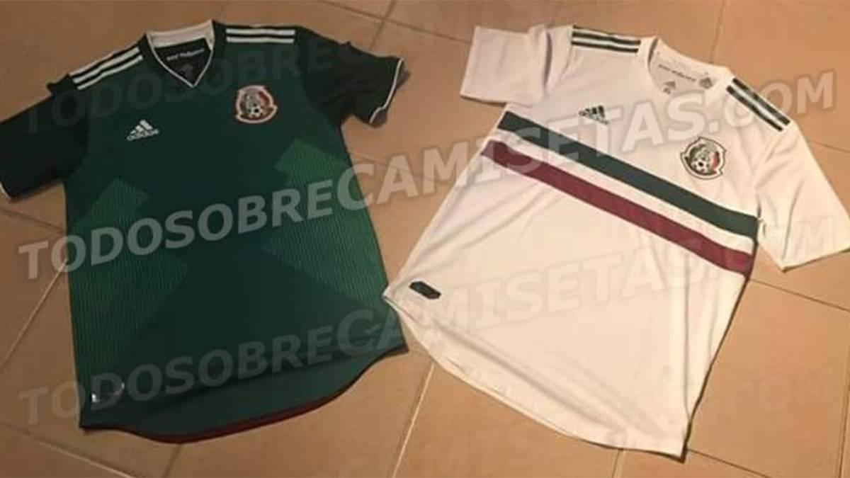 Filtran las posibles camisetas de México para la Confederaciones c55c4deff6689