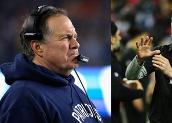 La defensa de Bill Belichick vs el ataque de Kyle Shanahan